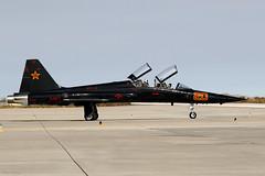 F-5F Tiger II 'Fighting Saints' (kevinclarke1969) Tags: vfc13 top gun fallon nas f5f