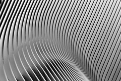 Exterior of New York City's Oculus: part 2 (jbarry5) Tags: newyorkcity newyork newyorkarchitecture oculus newyorkcityoculus calatrava blackandwhite abstract geometry architecture