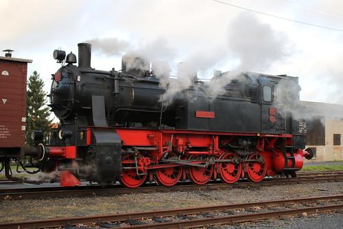 HC: Dampflok HC 206 in Naumburg