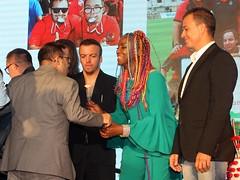 El Nàstic, present al sopar de la Fundació Esport Solidari Internacional