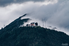 Bogota Mountains (jordan_hillis) Tags: sky landscape colombia bogota forest mountain south america monserrate travel explore mist fog statue hola southamerica heights elevation hiking hike vacation