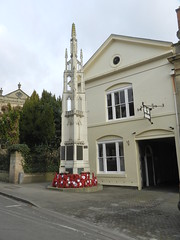 Warwick War Memorial, Warwick, Feb 2016 (allanmaciver) Tags: warwick war memorial england world 1914 1918 1939 1945 remember service sacrifice memory unique style allanmaciver
