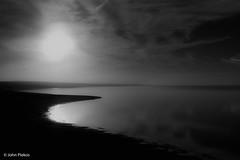 Norton Point Sunset (John Piekos) Tags: derby surfcasting d750 2470mm sunset ocean blackandwhite katamabay abstract fishing marthasvineyard edgartown fall marthasvineyardstripedbassandbluefishderby nikon