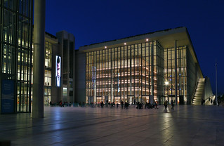 The Stavros Niarchos Foundation Cultural Center, the Library, Athens