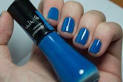 Four Somethings #4: Something Blue ~ Antenada - Vult. (Raíssa S. (:) Tags: blue azul cremoso vult foursomethingsnailchallenge esmalte unhas nails nailpolish naillacquer nailpainting
