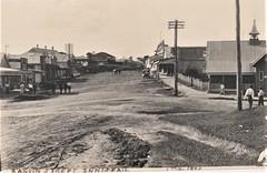 RANKIN STREET, INNISFAIL, QLD - 1 October, 1920 (Aussie~mobs) Tags: vintage queensland australia 1920 innisfail streetscape rankinstreet taylor shops stores jwduncan bank aussiemobs