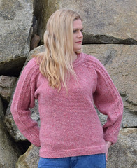 Blonde sexy girl in pink mohair (Mytwist) Tags: rathlin knitwear sweatergirl outfit craft wool fashion style girl design dicipline slave submissive fetish fisherman bulky aranstyle authentic retro timeless blonde