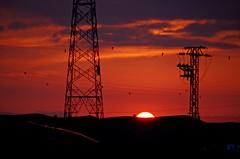 Montes de Zuera (portalealba) Tags: zuera zaragoza aragon españa spain sunset sol cielo nubes portalealba pentax pentaxk50 sun nwn