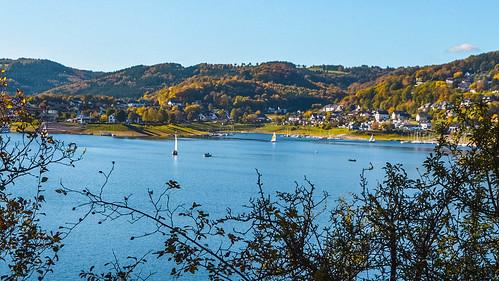 View on Rurberg, Germany
