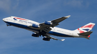 LHR - British Airways Boeing 747-400 G-CIVG