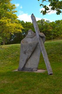 Kamouraska - Welcome Statue