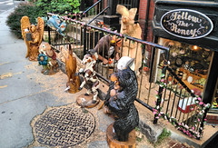 Week35 - Loud - A Garden Ornament - Work (iluvgadgets) Tags: loud agardenornament work woodwork chainsaw cambridgema