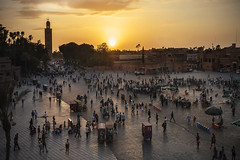 Marrakech (Inmacor) Tags: plaza marrakech atardecer kotubia contraluz sunset cafeglacier inmacor septiembre viaje travel traveling world perple gente viajar