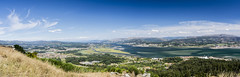 Monte de Santa Tegra (Sergio Casal) Tags: revisar panoramic panoramica galicia portugal atlántico travel traveling summer sun blackandwhite bn bnw