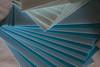 Carte bleue (Pi-F) Tags: carte enveloppe bleu pliage camaieu éventail pile dégradé lettre envoi poste composition géométrie abstrait ligne droite format visite texture papier diagonale minimalisme simple accumulation closeup