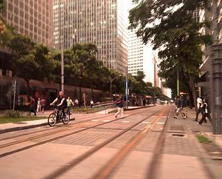 a cidade nos trilhos