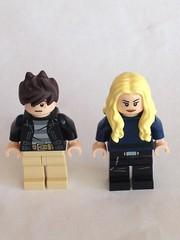 Andy and Lauren Strucker (Enøshima) Tags: andy lauren strucker the gifted fox tv series