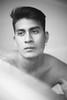 Joa (Carolina Sandoval Photography) Tags: blackandwhite monochrome model portrait portraitphotography young boy lights naturallight reflextion mirror magazine melancholic flower minimal white fineart