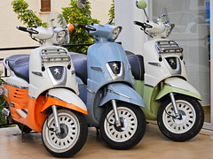 Trip triptych (Couldn't Call It Unexpected) Tags: peugeot scooter mallorca spain