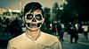 La Muerte (Joan Díaz) Tags: zombiewalk toluca death mascara mask retrato portrait bodypaint