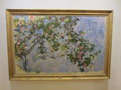 IMG_3851 Monet Les Roses at the Vancouver Art Gallery (vancouverbyte) Tags: vancouver vancouverbc vancouvercity monet vag lesroses
