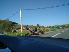 Horse, cart and car - Romania (ashabot) Tags: romania balkans
