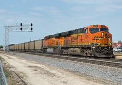 Galesburg Coal (Joseph Bishop) Tags: bnsf es44c4 6276 galesburg illinois trains train track tracks railfan r railroad railway rail rails