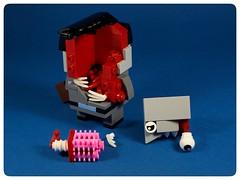 07 (manufacturajarema@wp.pl) Tags: lego zombie brickheadz brain