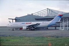 F-BUAF Airbus A300 Air Inter (@Eurospot) Tags: fbuaf a300 airbus deols chateauroux airinter