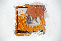Maddalena (S. Hemiolia) Tags: ischia ceramica maiolica piastrella formella smaddalena zeiss manualfocus canon 6d variosonnar 80200 f4 cy contaxyashica hell inferno forio contax yashica
