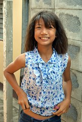 cute, vivacious girl (the foreign photographer - ฝรั่งถ่) Tags: cute vivacious girl child preteen khlong thanon portraits bangkhen bangkok thailand nikon d3200