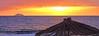Last of summer.. (salsellen) Tags: kreta crete creece hellas kalamaki sunset summer sun umbrella sea seaside beach colour colori joy moment