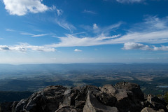 Atop the Stony Man's Head (dzmears) Tags: mountain rocks stones valley mountains clouds view landscape hiking lovely scenic scenary
