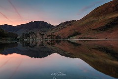 Buttermere Lake at dawn (Pastel Frames Photography) Tags: buttermerelake lakedistrict uk greatbritain landscapephotography travel naturewonder reflection explore canon5dmark3 canon1635mm