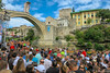 Red Bull Cliff Diving / Mostar / Bosnia and Herzegovina (HimzoIsić) Tags: sport jumping extreme action adrenalin redbullcliffdiving bridge building poeple landscape outdoor ngc