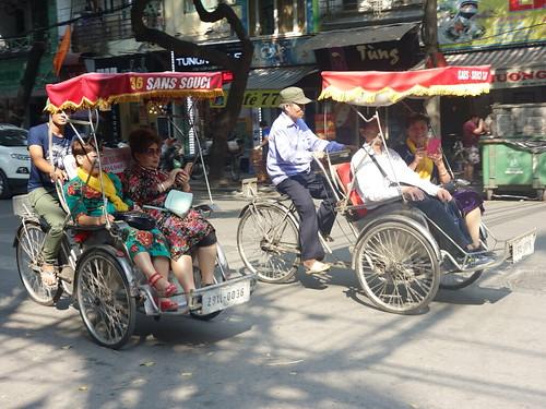 un autre moyen de transport (surtout pour les touristes ! )