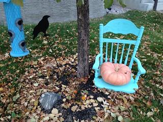 Pumpkin Seating ....