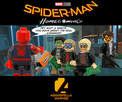Spider-Man Homecoming (ATM Robbery) 💰🔫 [MCU] [A DAY IN THE LIFE] (agoodfella minifigs) Tags: lego marvel marvellego legomarvel minifigures marvelcomics comics heroes spiderman superheroes spidermanhomecoming peterparker ironman mcu