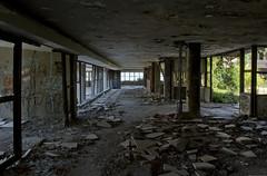 Abandoned hotel (3) (EvenHarbo) Tags: abandoned nikond7100 nikon croatia croatianwarofindependence hotel war ruins architecture urbanexploration kupari yugoslavia building