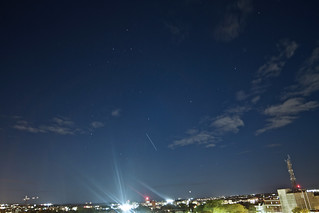 ISS over the city No. 2
