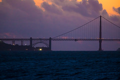My Blue Heaven (Thomas Hawk) Tags: america bayarea california goldengatebridge sfbayarea sanfrancisco sanfranciscobayarea treasureisland usa unitedstates unitedstatesofamerica architecture bridge clouds sunset us fav10 fav25 fav50