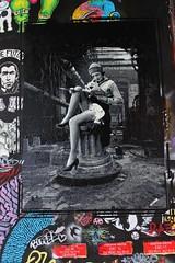 Dr Bergman_9366 boulevard du Général Jean Simon Paris 13 (meuh1246) Tags: streetart paris boulevarddugénéraljeansimon lelavomatik paris13 drbergman bonnet g fumeur lecture