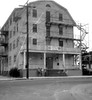 The abandoned and utterly haunted old Sauter Hotel from around 1890. Look at that weird ghostly energy beam going right through the bush! Shazzam! A macabre creepy den of the undead, this ancient hotel made my skin crawl. Milford Connecticut. Aug 1972 (wavz13) Tags: parskyhotel parskys bagelbeach oldphotographs oldphotos 1970sphotographs 1970sphotos oldphotography 1970sphotography vintagesnapshots oldsnapshots oldfriends 1970sfriends vintagefriends vintagephotographs vintagephotos vintagephotography filmphotos filmphotography oldbuildings vintagebuildings 19thcenturybuildings hauntedbuildings hauntedhotels depressing bleak noir noire dark abandonedbuildings connecticutphotographs connecticutphotos connecticutphotography oldconnecticutphotography oldconnecticutphotos oldconnecticut vintageconnecticut vintagenewengland oldnewengland 1970snewengland vintagenewenglandphotography oldnewenglandphotography 126 126film squareformat instamatic verichromepan grain grainy vintagekids vintageteens vintageteenagers teenmemories teenagememories vintagemilford oldmilford 1970smilford vintagewoodmont oldwoodmont 1970swoodmont spookybuildings scarybuildings forgottenplaces hauntedhouses overlookhotel oldhotels vintagehotels oldhauntedhotels ghosts supernatural afterlife reincarnation ghostly 19thcentury