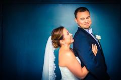 Whatever the weather! (Edgar Myller) Tags: couple wed wedding hää hääpari cute smile love blue rain feeling good happy groom bride finland portrait portraits weather no problem