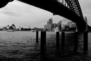 Sydney Milson Point bw