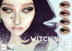 WarPaint* @ Season of the Witch - Witching hour eyeshadow (Mafalda Hienrichs) Tags: warpaint war paint season witch sotw catwa lelutka witching hour eyeshadow bento applier makeup