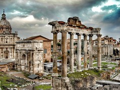 An empire can also collapse..️ (carlesbaeza) Tags: roma travel viatge viajar ruïnes ruinas italia ngc italy rome europe