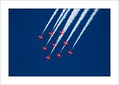 Red Arrows - ii (Steve-T201) Tags: redarrows falmouth cornwall display jet aeroplane