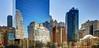 NY Manhattan IX (stega60) Tags: manhattan skyline sky blue mirror city skygrabber buildings street hdr stiched panorama stega60 worldtradecenterfour newyork