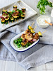 Indian Spiced Chicken Skewers with Cucumber Raita (84thand3rd) Tags: jenniferjenner 84thand3rd 84th3rd recipe summergrilling skewers summerskewers